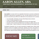 Aaron J. Allen - Minneapolis Business Graduate