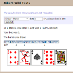 Jokers Wild - Poker Game Engine